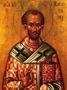 January 27, 2015 </br>Transfer of the Precious Relics of our Father among the Saints John Chrysostom