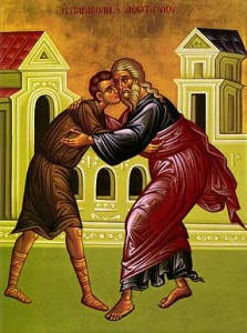 January 24, 2016 </br>Sunday of the Prodigal Son, Octoechos Tone 2; Our Venerable Mother Xenia the Roman