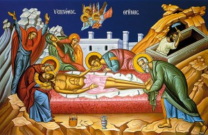 April 4, 2015 </br>Great and Holy Saturday