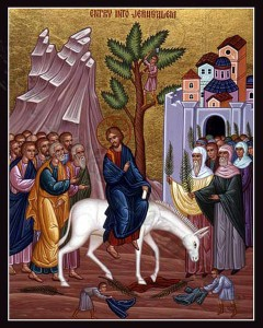 April 13, 2014 </br>Palm Sunday – The Lord's Entrance into Jerusalem