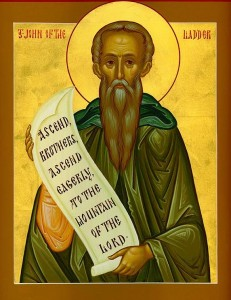 March 15, 2015 </br>Fourth Sunday of the Great Fast </br>Venerable Father John Climacus </br>Octoechos Tone 7