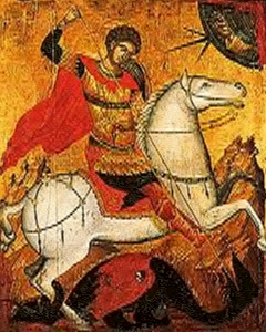 April 23, 2014 </br>Bright Wednesday </br>Great Martyr and Wonderworker George