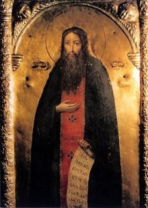 May 3, 2015 </br>Fifth Sunday of Pascha – Sunday of the Samaritan Woman </br>Repose of our Venerable Father Theodosius, Hegumen of the Monastery of the Caves at Kyiv (1074)