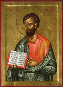 April 25, 2015 </br>Holy Apostle and Evangelist Mark