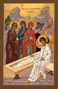 April 10, 2016 </br>Third Sunday of Pascha – Sunday of the Myrrh-bearing Women