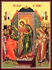 April 3, 2016 </br>Thomas Sunday – Second Sunday of Pascha