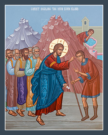 May 25, 2014 </br>Sunday of the Man Born Blind; </br> Third Finding of the Precious Head of the Holy, Glorious Prophet, Forerunner, and Baptist John