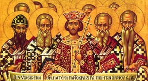 October 16, 2016 </br>Commemoration of the Fathers of the Seventh Ecumenical Council, Octoechos Tone 5; The Holy Martyr Longinus the Centurion