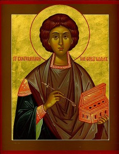 July 27, 2014 </br>Seventh Sunday after Pentecost, Octoechos Tone 6 </br>Holy Great Martyr and Healer Panteleimon