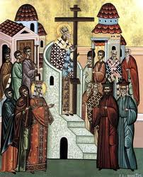 September 21, 2014 </br>15th Sunday after Pentecost, Octoechos Tone 6;</br> Leave-taking of the Universal Exaltation of the Precious and Life-Giving Cross