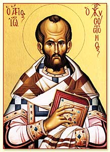 November 13, 2013 </br>Our Holy Father John Chrysostom, Archbishop of Constantinople