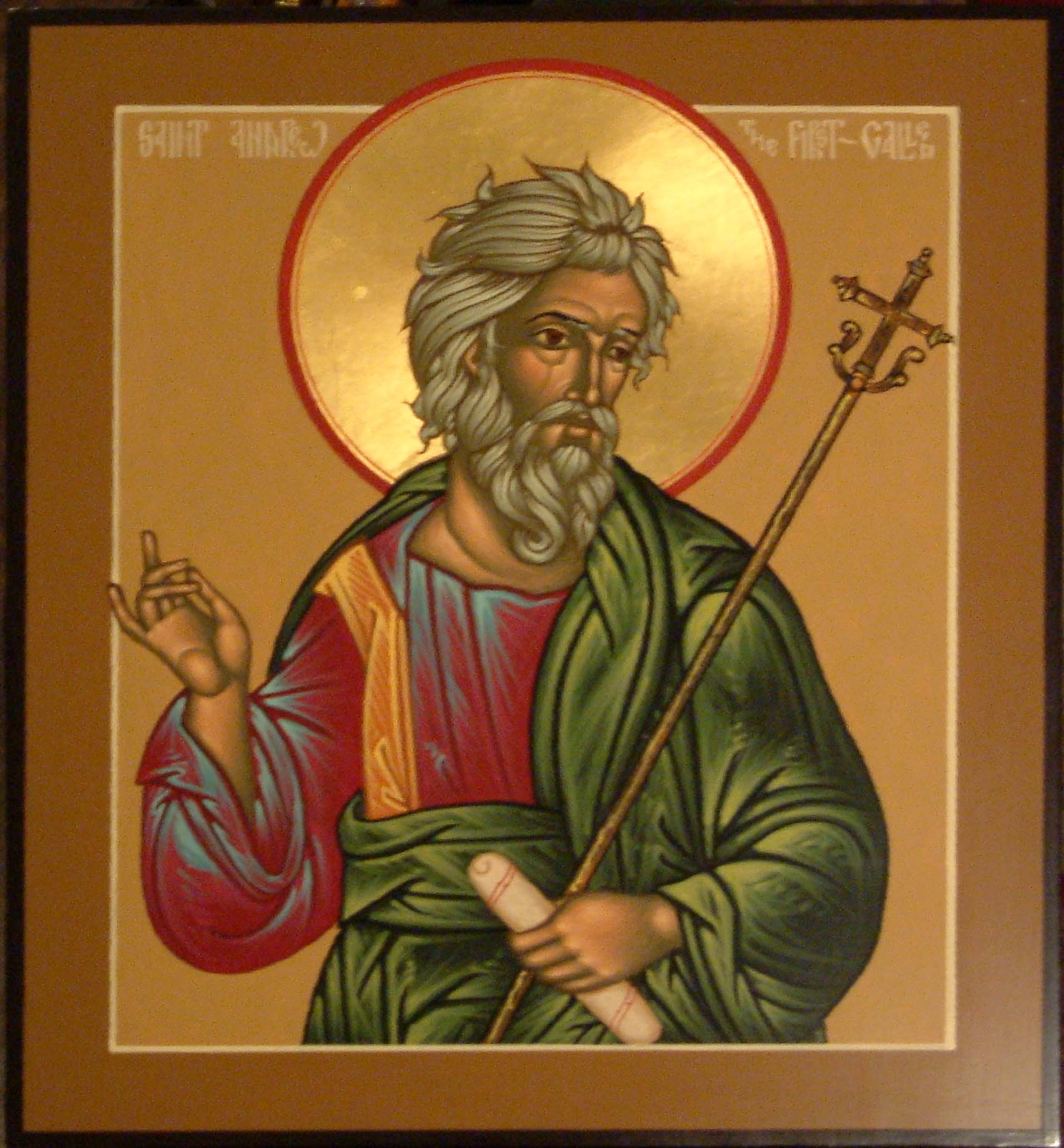 November 30, 2014 </br>25th Sunday after Pentecost, Tone 8 </br>Holy and All-Praiseworthy Apostle Andrew the First-Called
