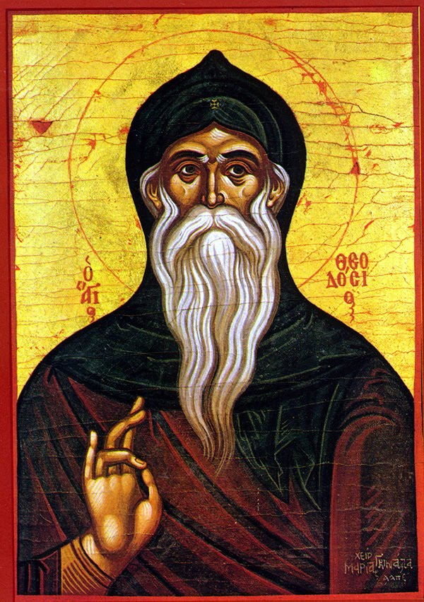 Sunday after the Theophany, Octoechos Tone 6; Our Venerable Father Theodosius, Founder of the Ceneobitic Life
