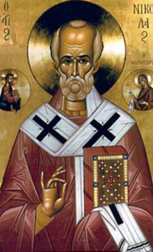 December 6, 2014 </br>Our Holy Father Nicholas the Wonderworker, Archbishop of Myra in Lycia
