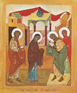 February 2, 2014 </br>Sunday of Zacchaeus, Octoechos Tone 4 </br>The Encounter of our Lord God and Saviour Jesus Christ