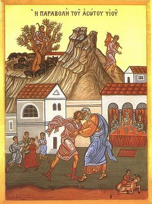 February 16, 2014 </br>Sunday of the Prodigal Son, Octoechos Tone 6 </br>Holy Martyrs Pamphilus the Priest and Porphyrius and Their Companions