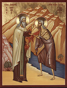 March 13, 2016 </br>Fifth Sunday of the Great Fast: Our Venerable Mother, Mary of Egypt, Octoechos Tone 1; The Transfer of the Relics of Our Holy Father Nicephorus, Patriarch of Constantinople (847)