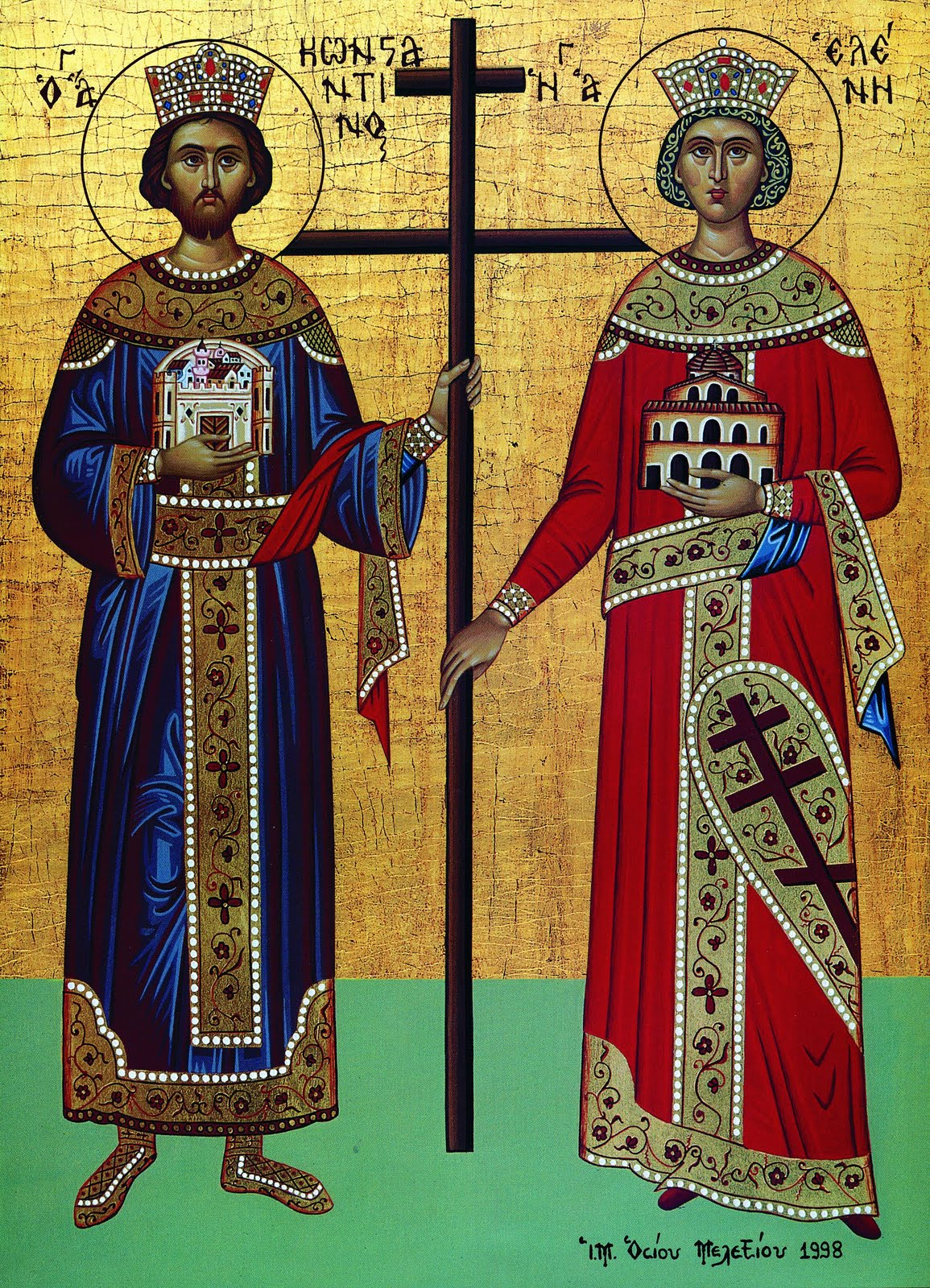 May 21, 2014 </br>Leave-taking of Mid-Pentecost; Holy Great Rulers Constantine and Helen, Equal to the Apostles