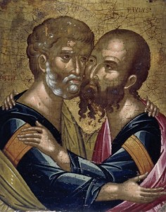 June 29, 2015 </br>Holy, Glorious, All-Praiseworthy and Chief Apostles, Peter and Paul