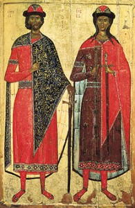 July 24, 2015 </br>Holy Martyrs Borys and Hlib Named Roman and David at Baptism