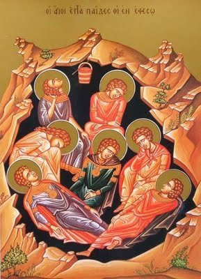 August 4, 2013</br>11th Sunday after Pentecost, Tone 2</br>Seven Holy Youths of Ephesus