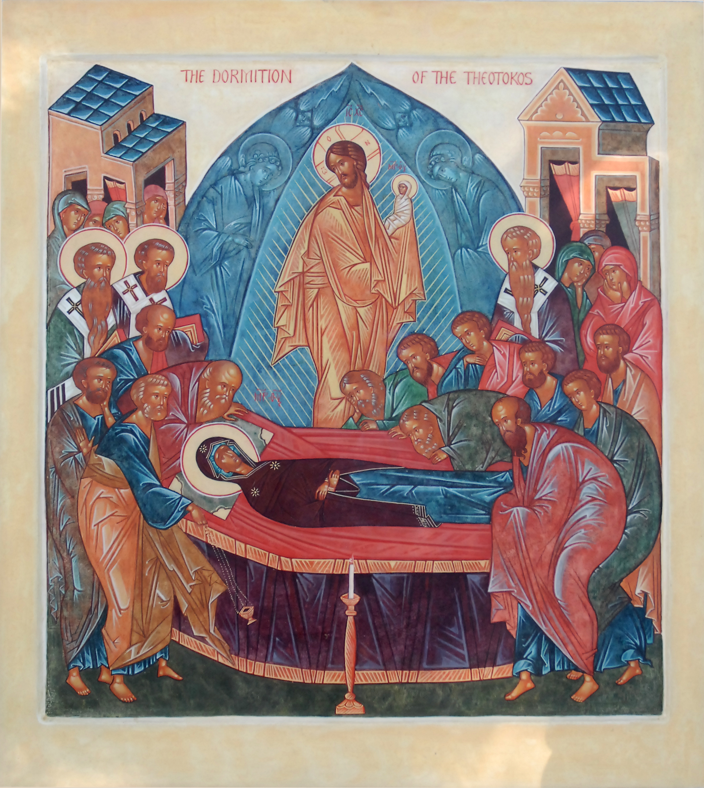 August 15, 2016 </br>The Dormition of the Most Holy Lady, the Theotokos and Ever-Virgin Mary