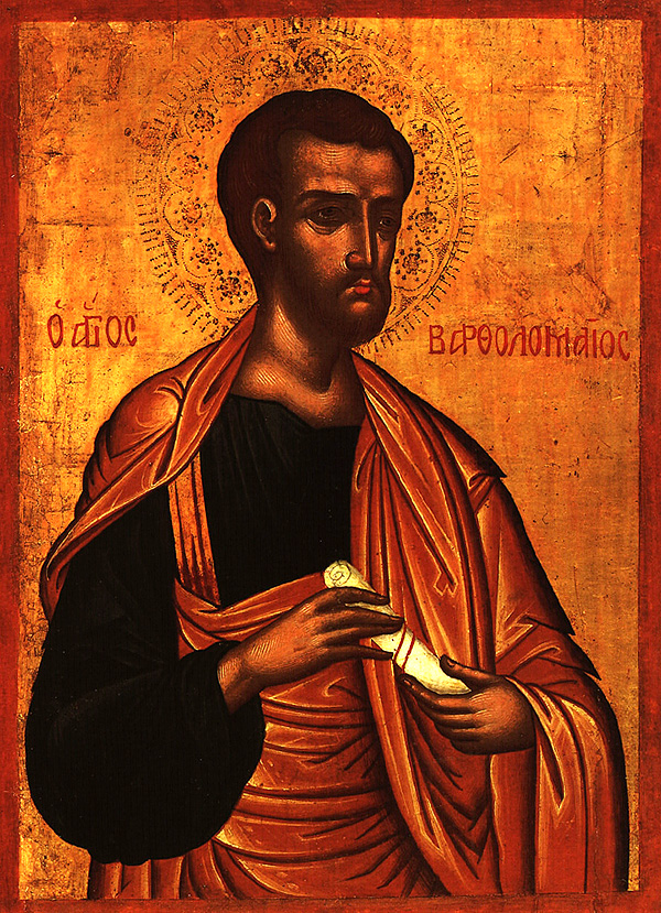 August 25, 2013 </br>14th Sunday after Pentecost, Octoechos Tone 5 </br>Return of the Relics of the Holy Apostle Bartholomew; Holy Apostle Titus