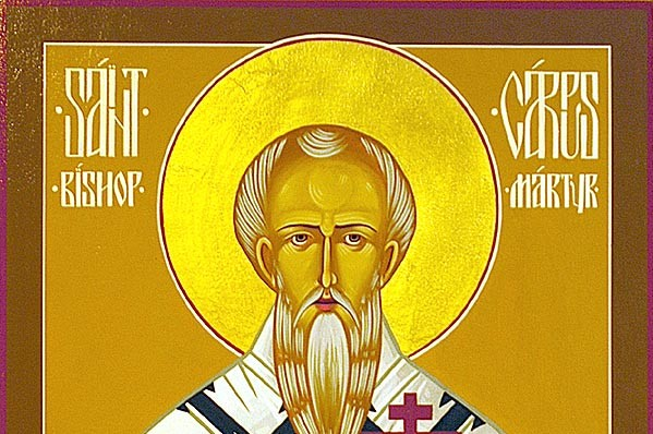 October 13, 2013 </br>Sunday of the Holy Fathers of the Seventh Ecumenical Council, </br> Octoechos Tone 4; </br>Holy Martyrs Carpus Papylas and Agathonicus (249-51)