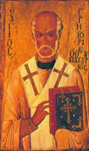 November 17, 2013 </br>26th Sunday after Pentecost, Octoechos Tone 1 </br>Our Holy Father Gregory the Wonderworker, Bishop of Neocaesarea