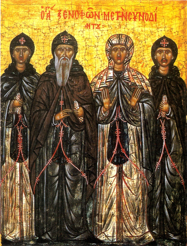 January 26, 2014 </br>31st Sunday after Pentecost, Octoechos Tone 3 </br>Our Venerable Father Xenophon and His Wife Maria