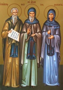 August 3, 2014 </br>Eighth Sunday after Pentecost, Octoechos Tone 7 </br>Our Venerable Fathers Isaac, Dalmatus, and Faustus