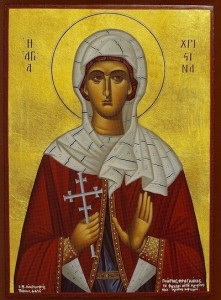 October 5, 2014 </br>17th Sunday after Pentecost, Tone 8 </br>Holy Martyr Charitina