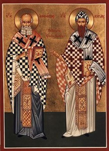 January 18, 2015 </br>Sunday of Zacchaeus, Octoechos Tone 7 <br>Our Holy Fathers and Archbishops of Alexandria Athanasius and Cyril