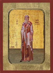 October 4, 2015 </br>Nineteenth Sunday after Pentecost, Octoechos Tone 2; The Holy Priest-Martyr Hierotheus, Bishop of Athens; Ammon the Anchorite (350); Vladimir, Prince of Novgorod and his mother, Anne (1051); our Venerable Father Francis of Assisi (1181-1226)