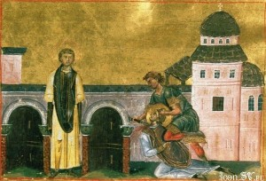 October 25, 2015 </br>Twenty-Second Sunday after Pentecost, Tone 5; The Holy Martyrs and Notaries Marcian and Martyrius