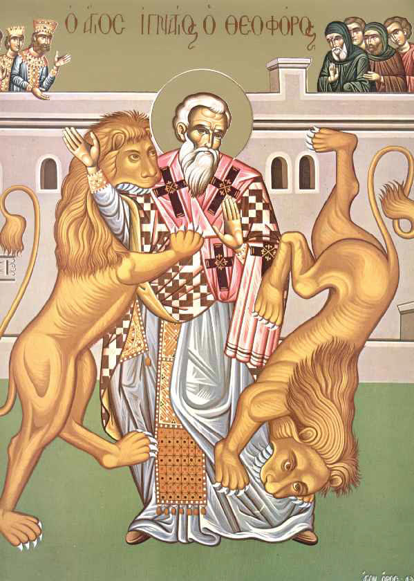 December 20, 2015 </br>Sunday of the Holy Fathers, Octoechos Tone 5; Holy Priest-Martyr Ignatius the Godbearer