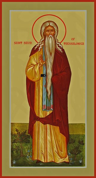 June 26, 2016</br>Sixth Sunday after Pentecost, Octoechos Tone 5; Our Venerable Father David of Thessalonica