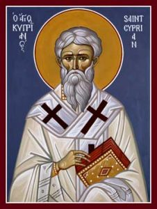 October 2, 2016 </br>20th Sunday after Pentecost, Octoechos Tone 3; The Holy Priest-Martyr Cyprian; the Holy Martyr Justina; and the Holy Andrew, Fool for the Sake of Christ