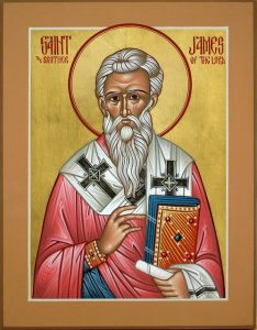 October 23, 2016 </br>23rd Sunday after Pentecost, Octoechos Tone 6; The Holy Apostle and Brother of the Lord in the Flesh James