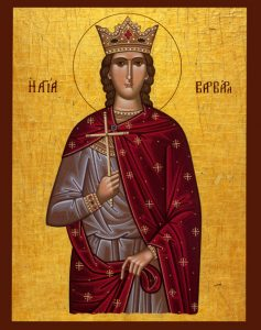 December 4, 2016 </br>29th Sunday after Pentecost, Octoechos Tone 4; The Great-Martyr Barbara (286-305); Our Venerable Father John of Damascus (749)