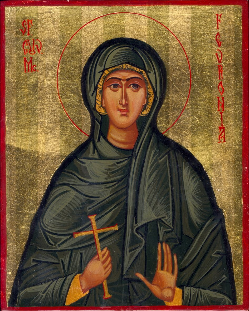 June 25, 2017 </br>Third Sunday after Pentecost, Octoechos Tone 2; The Holy Venerable-Martyr Febronia
