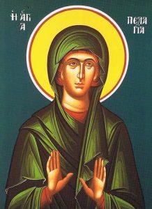 October 8, 2017 </br>Eighteenth Sunday after Pentecost; Octoechos Tone 1; Venerable Mother Pelagia